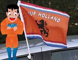 Sponsor Ideeen Met Vlaggen Clubvlag Voor Op De Auto